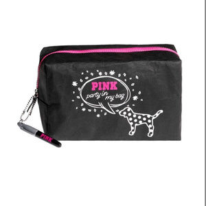 NEW Victoria's Secret PINK Make Up Bag